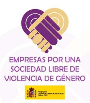 Logo empresa por una sociedad libre de violencia de género